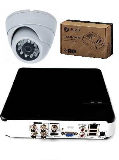 Комплект А1: одна внутренняя камера с видеорегистратором