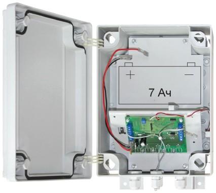SOLAR 12В/15Вт видеонаблюдение на солнечных батареях