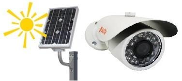 """Комплект """"SOLAR-LITE"""" видеонаблюдение на солнечных батареях"""