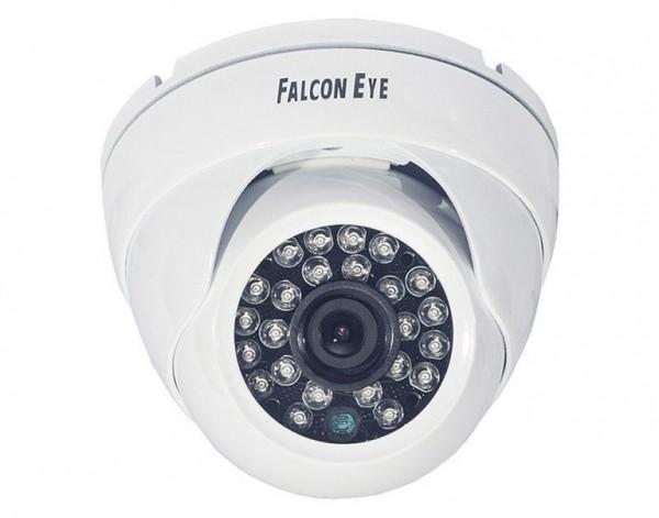 FE-ID720AHD/20M-2,8 мм AHD-Камера уличная купольная c ИК-подсветкой