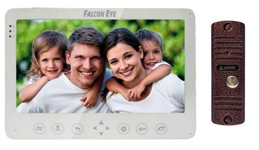Комплект Монитор Falcon Eye FE-101M + Панель AVC-305 (Цветная)