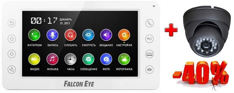 Комплект видеонаблюдения на базе видеодомофона FE-70CH ORION DVR